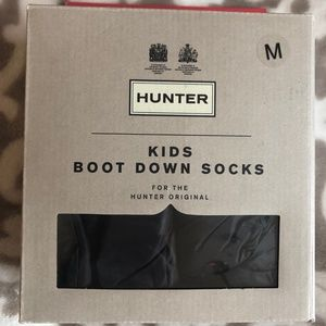 HUNTER Luxury Down Boot Socks (mid calf)-NWT